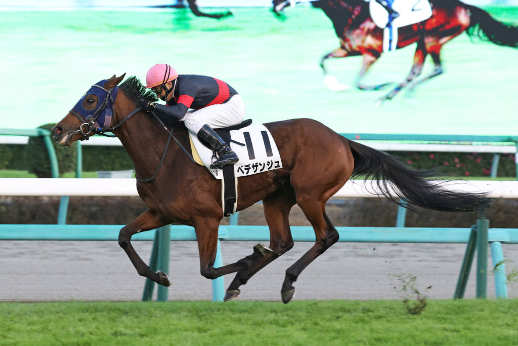【中山12R】ベデザンジュが3連勝