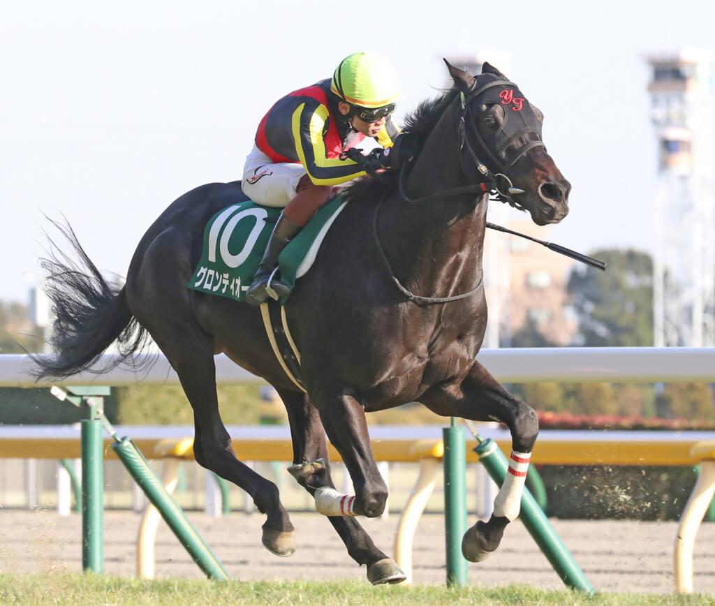 【新馬/阪神4R】8番人気 メイショウサトワがデビューV