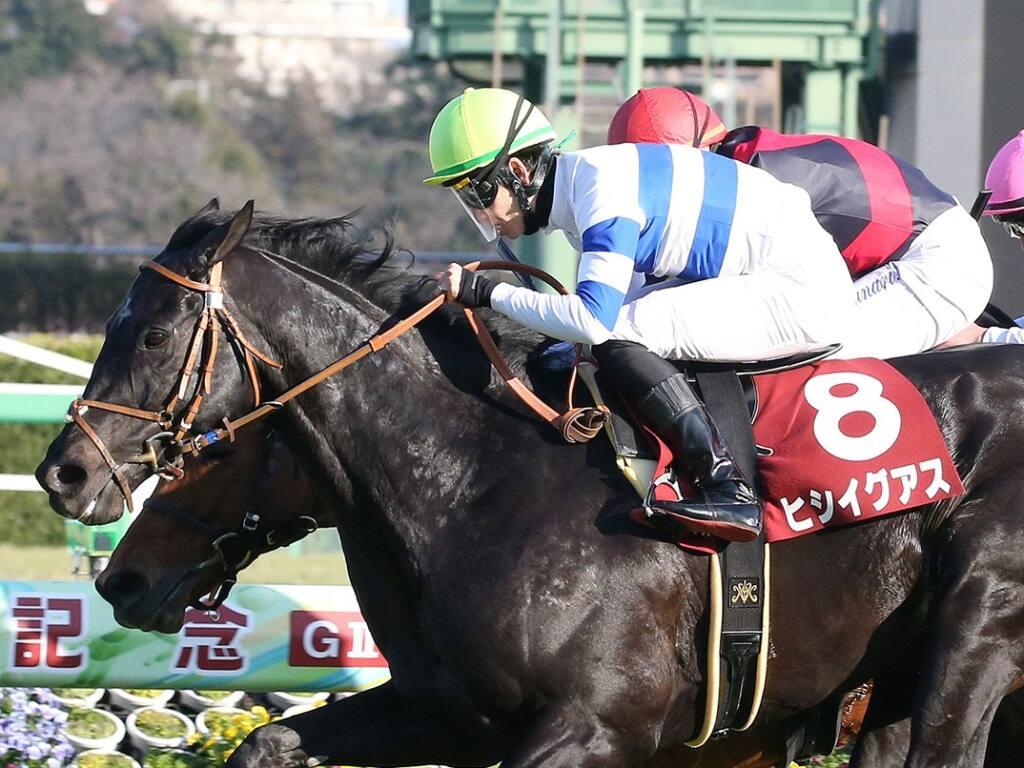 【中山記念】松山「乗るたびに良くなってる」ヒシイグアスが快勝
