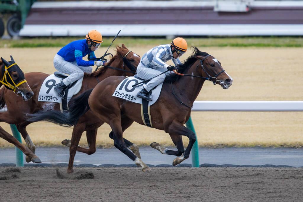 【中京3R】良血マンインザミラーが初勝利