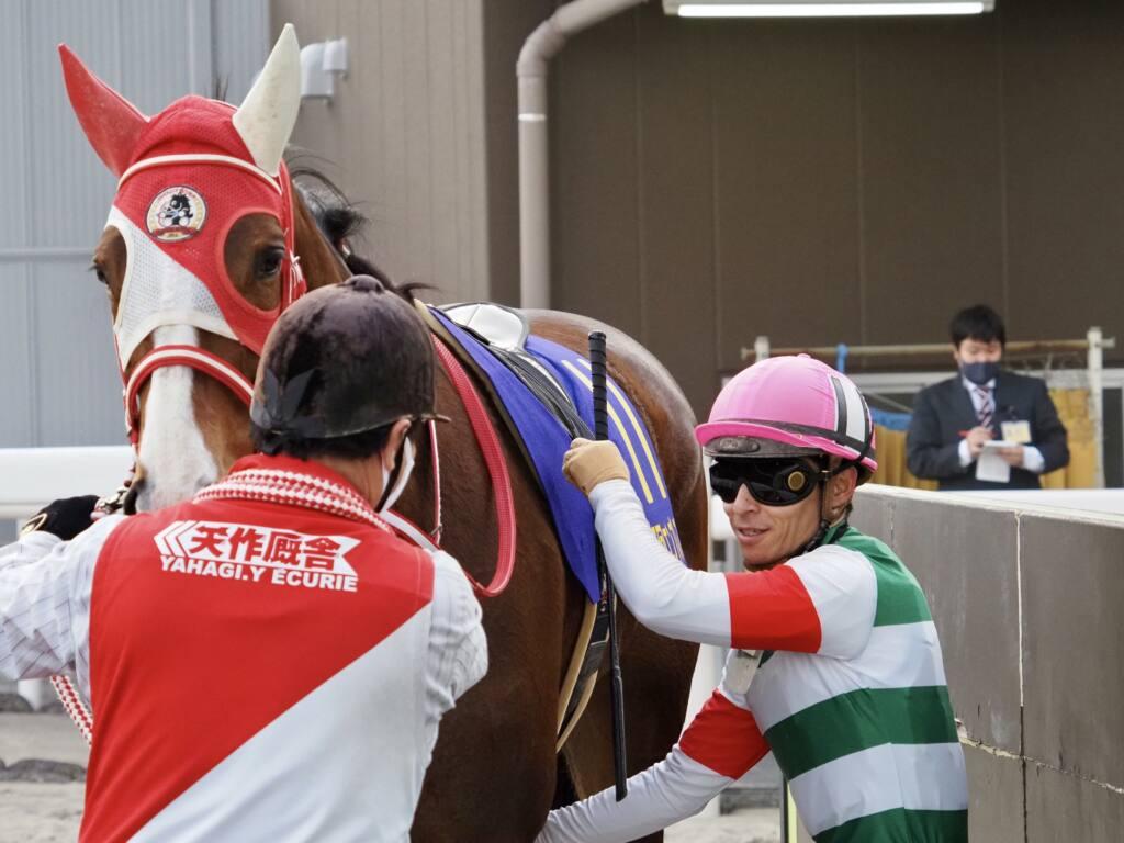 【エンプレス杯】川田「コーナーを大切に回していきました」マルシュロレーヌが完勝