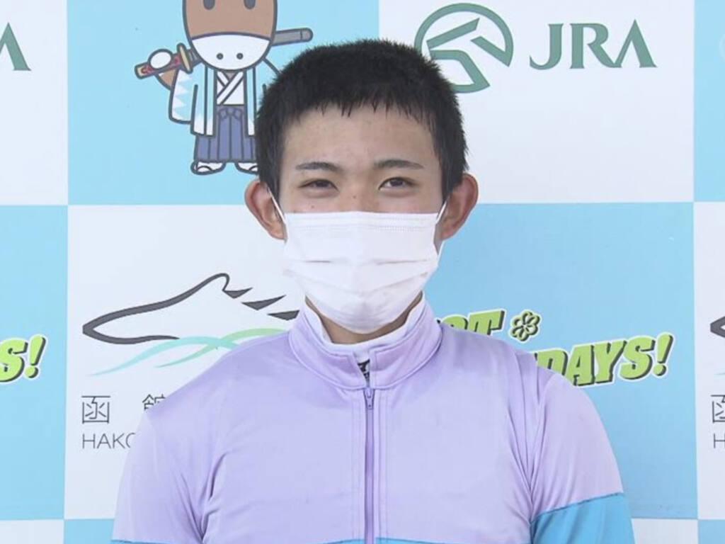 【函館2歳S】泉谷「素直に嬉しいです」ナムラリコリスがVで人馬ともに初重賞