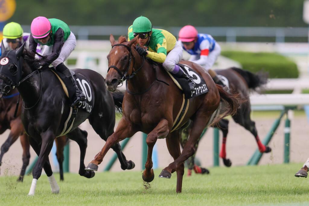【小倉12R】武豊 メイショウヒバリが3馬身差完勝