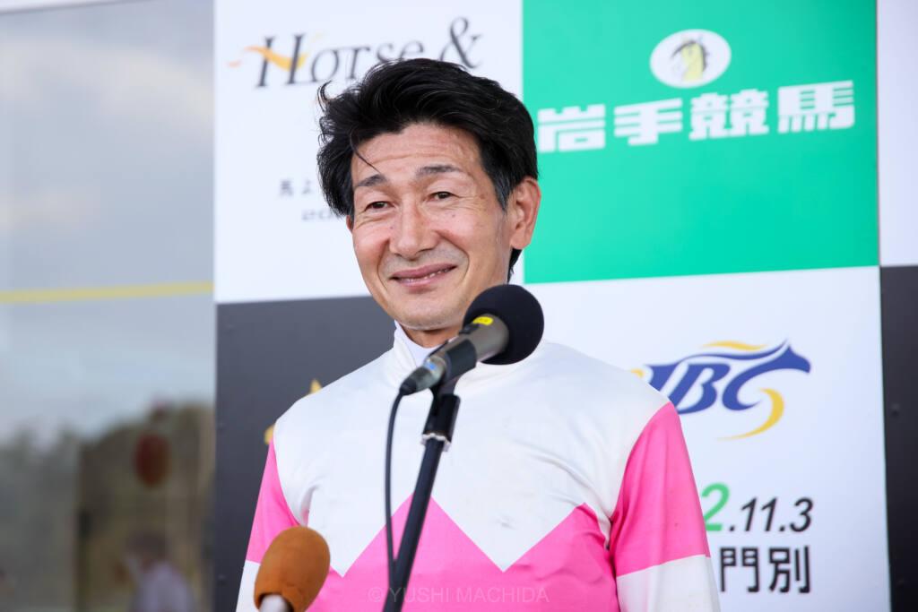 【クラスターC】柴田善「歳がバレちゃいますね(笑)」リュウノユキナが人気に応える