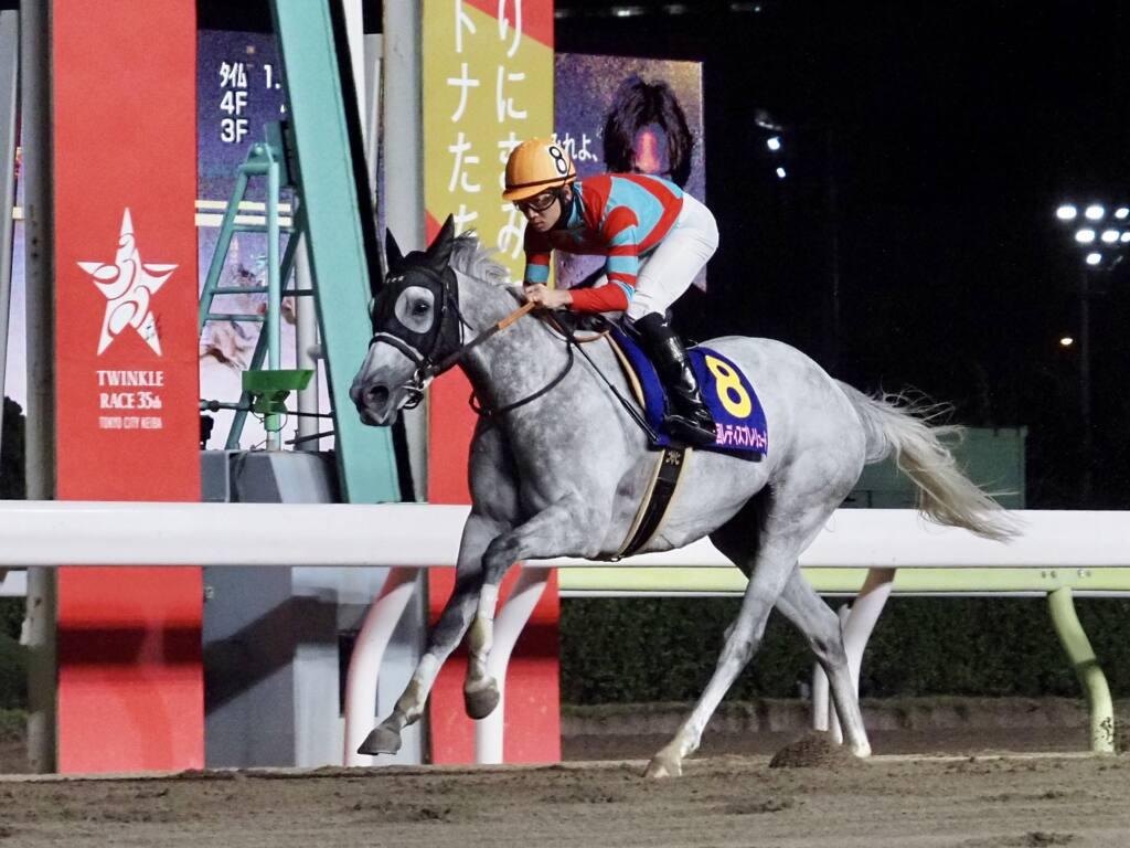 【レディスプレリュード】松山弘平が連夜のお立ち台!レーヌブランシュが重賞2勝目
